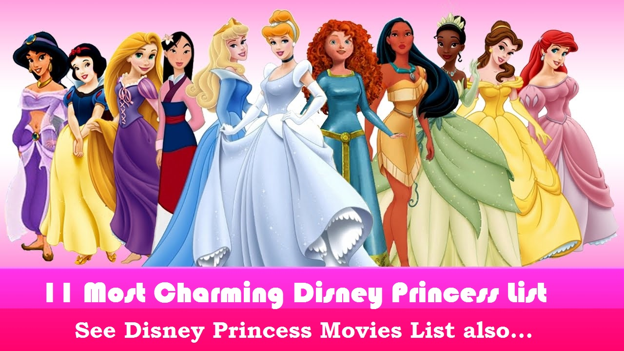 11-most-popular-disney-princess-list